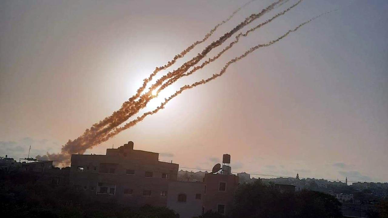 Gazze Şeridi'nden Batı Kudüs ve Beyt Şems'e 6 roket atıldı