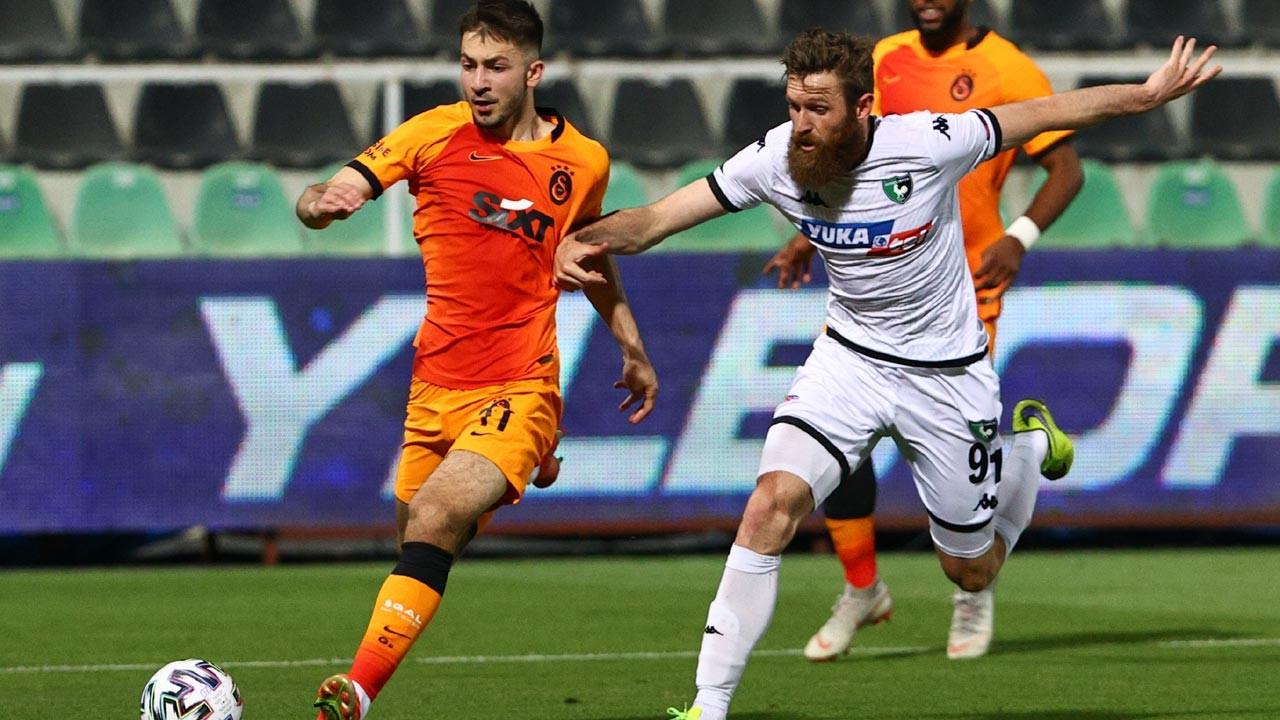 Galatasaray deplasmanda Yukatel Denizlispor'u 4-1 yendi