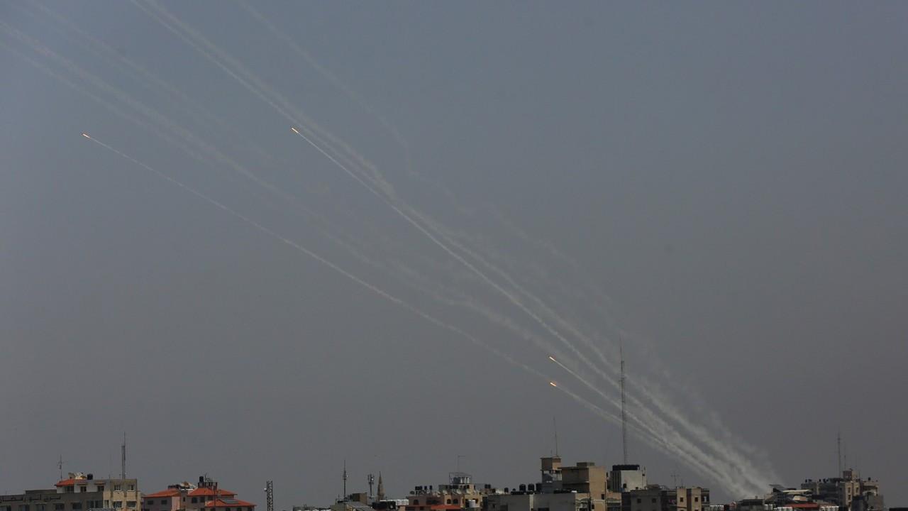 'Gazze Şeridi'nden atılan roketlerle bir İsrailli öldü, 8 kişi yaralandı'