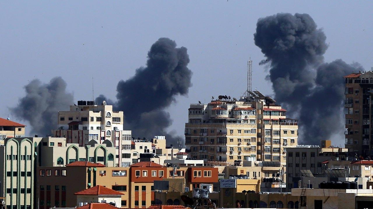 İsrail saldırılarında 10'u çocuk 28 Filistinli öldü