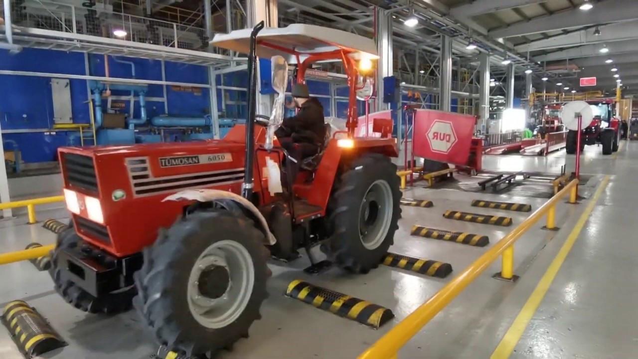 TÜMOSAN'dan Gine'ye 50 adetlik traktör ihracatı