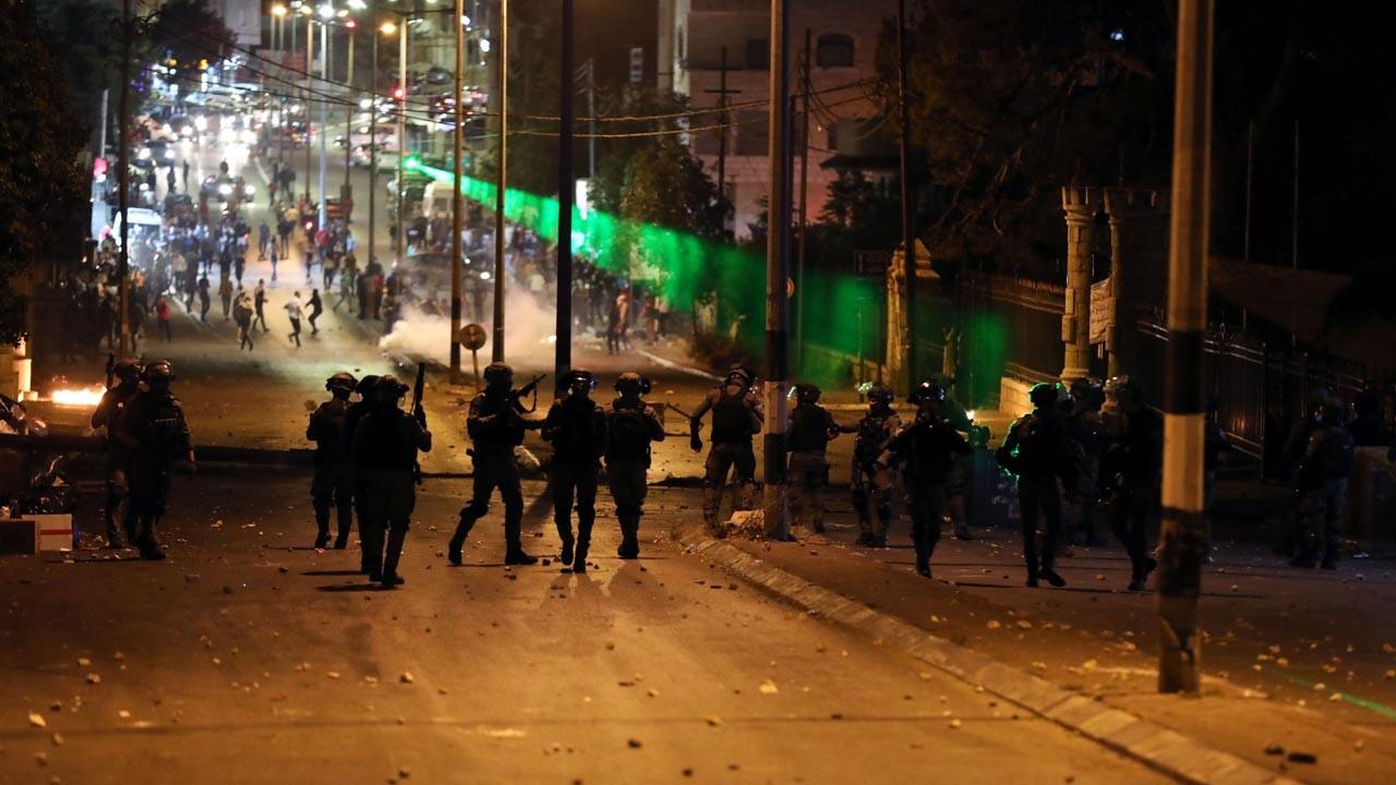 İsrail'in Lid kentinde olağanüstü hal ilan edildi