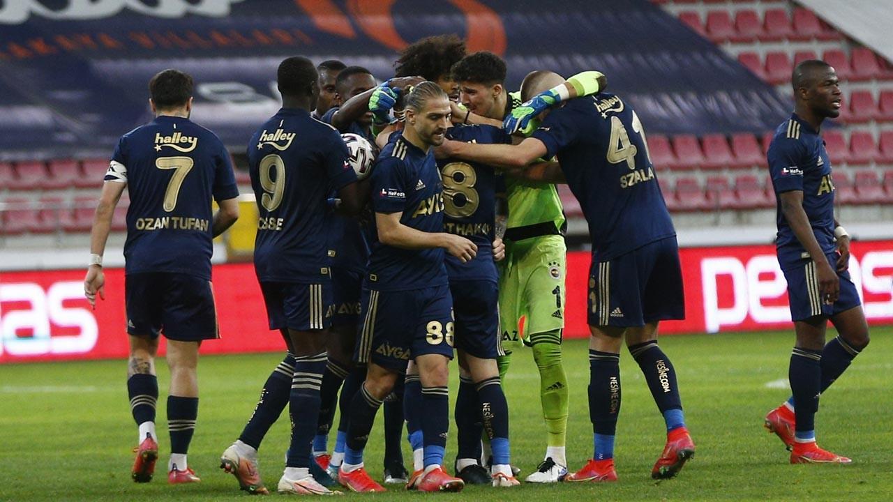 Fenerbahçe Kayserispor'u 2-1 yendi