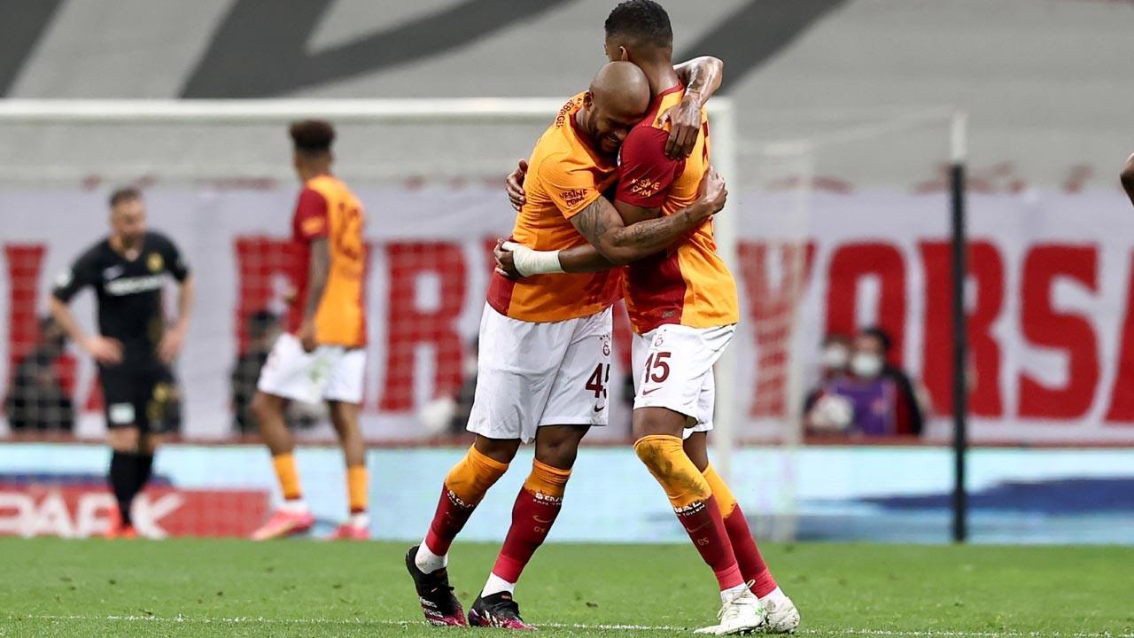 Galatasaray Helenex Yeni Malatyaspor'u 3-1 yendi