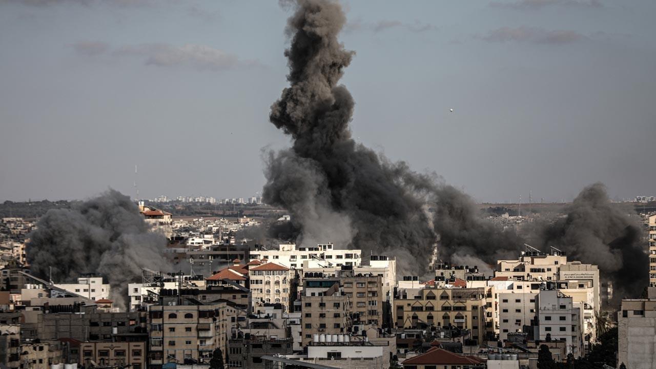 İsrail saldırılarında ölü sayısı 212'ye çıktı