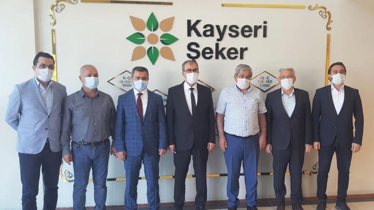 SGK Yozgat İl Müdürlüğü'nden Kayseri Şeker'e istihdama destek plaketi