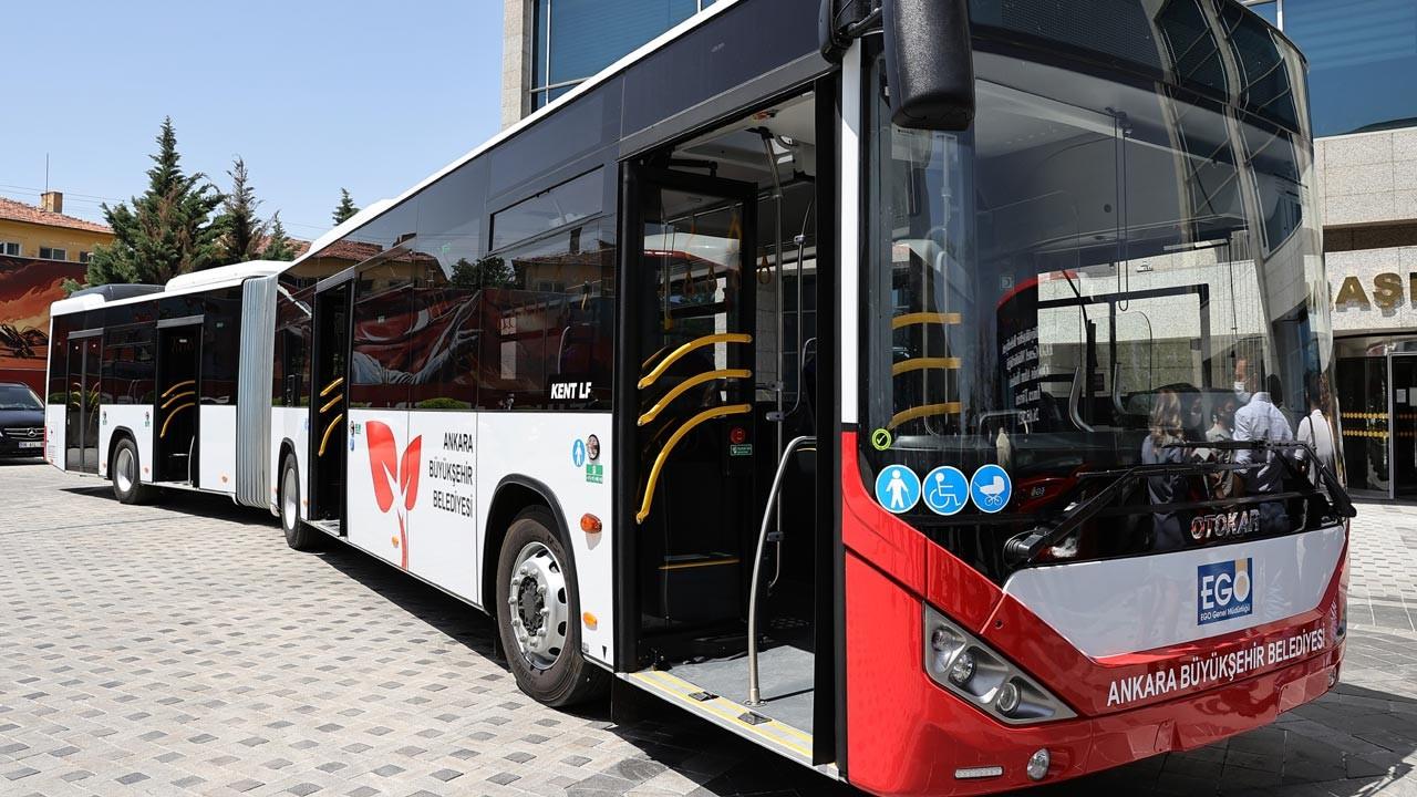 Ankara'ya 28 körüklü otobüs için imzalar atıldı