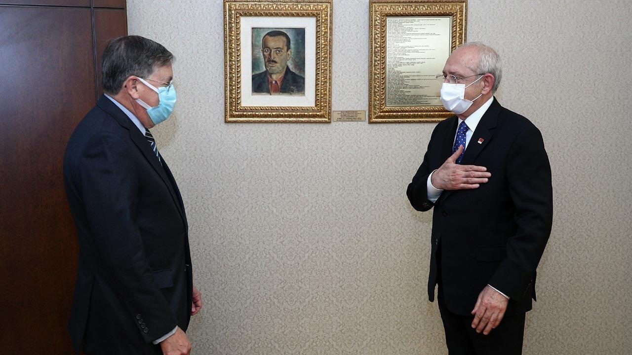 Kılıçdaroğlu, ABD Ankara Büyükelçisi Satterfield ile görüştü