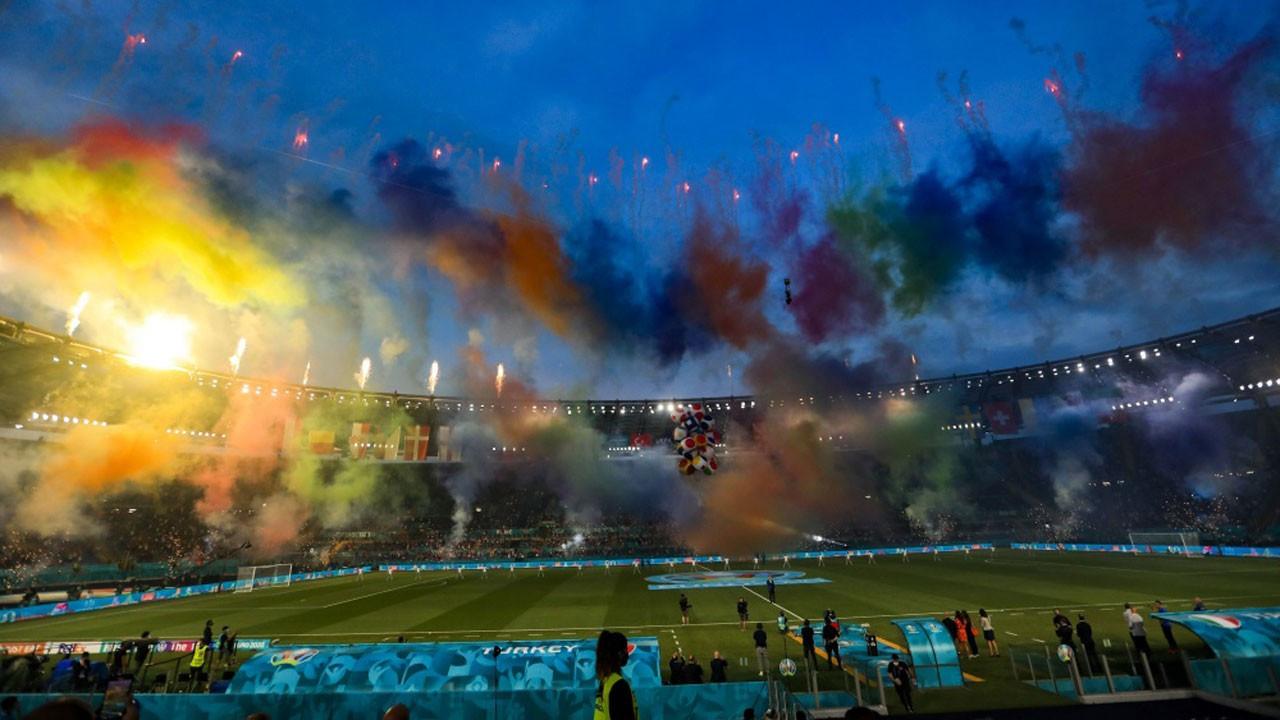 EURO 2020'ye renkli açılış