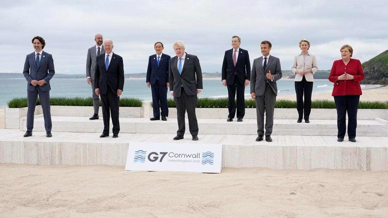 G7 liderleri, Çin ile 'rekabet'te anlaşmaya vardı