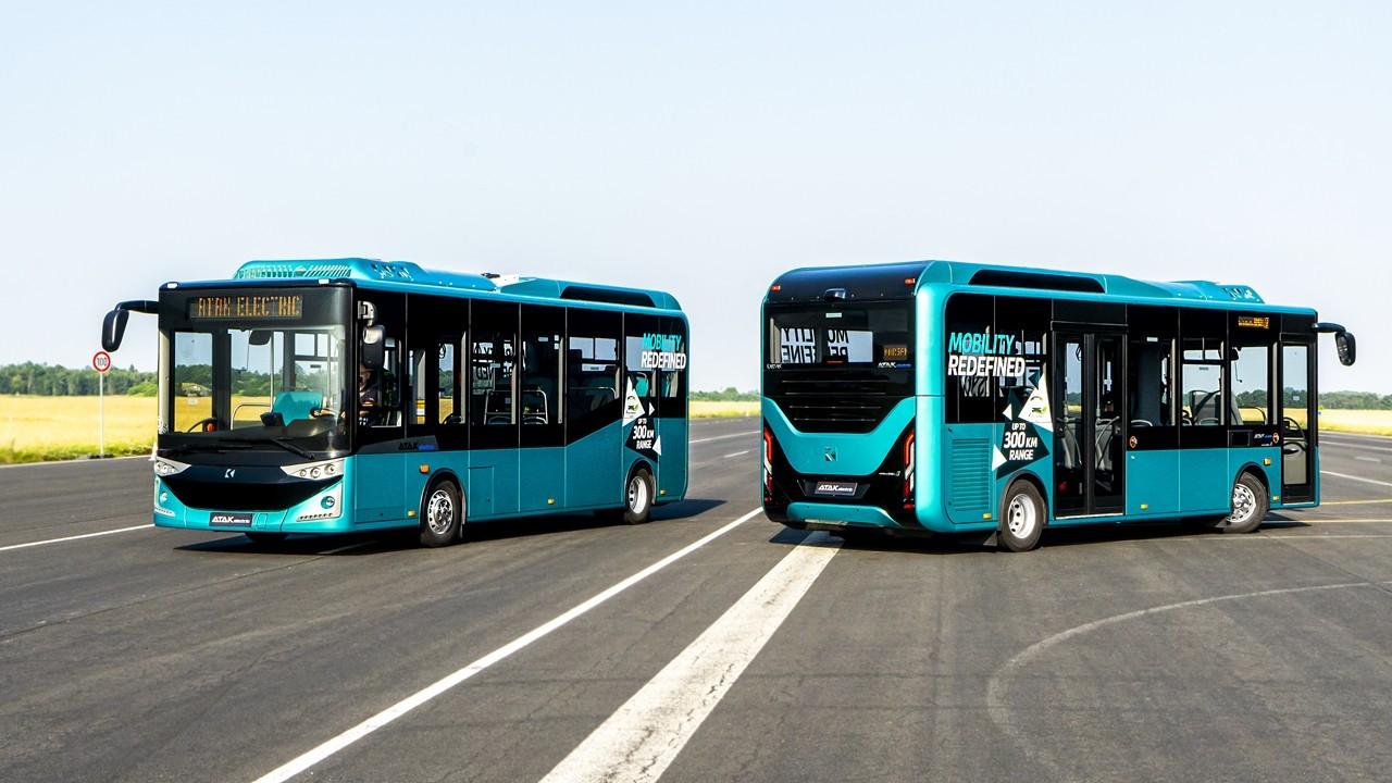 Karsan'ın elektrikli otobüsü Almanya yolcusu