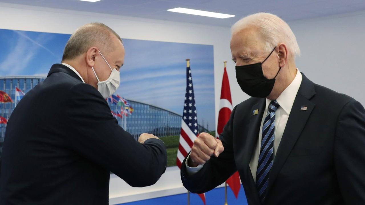 Erdoğan - Biden görüşmesi bitti