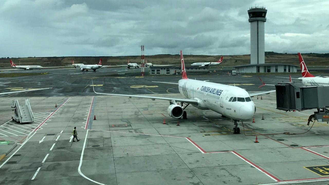 26 uçak İstanbul Havalimanı'na yönlendirildi