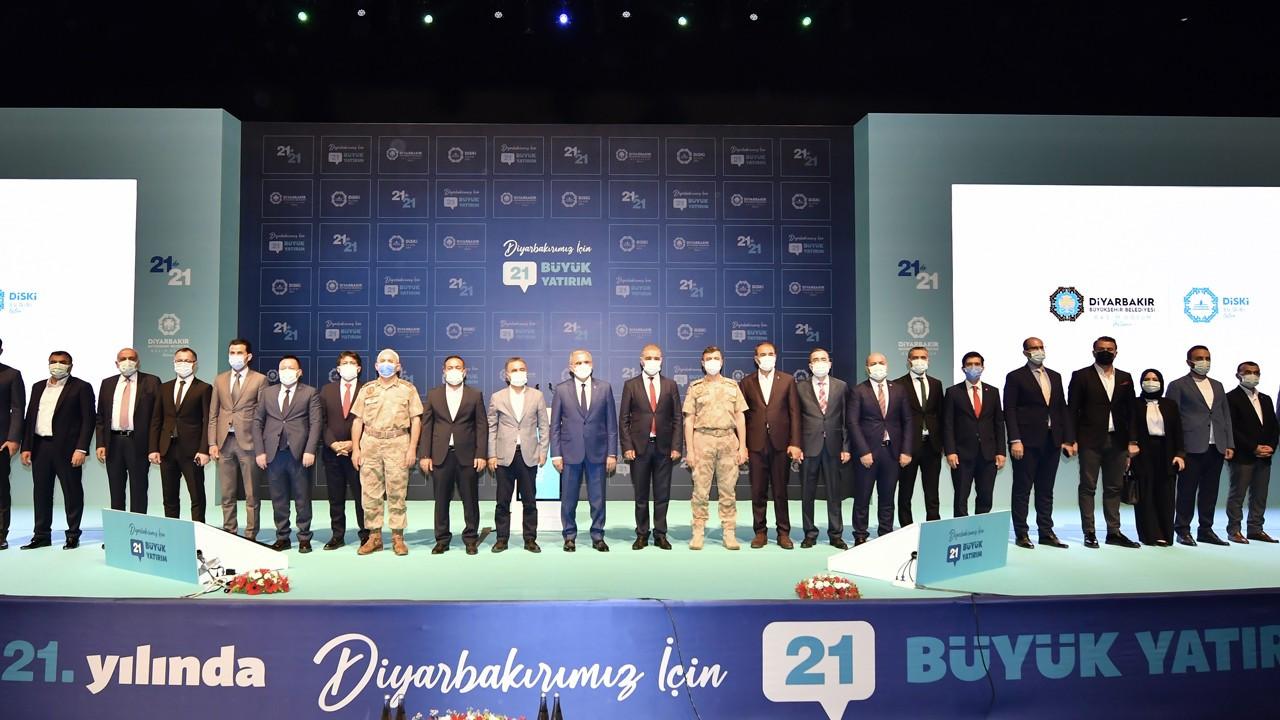 Diyarbakır'da su için 21 proje hayata geçiyor