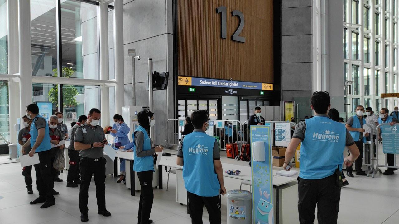 İstanbul Havalimanı'nda aşı merkezi açıldı