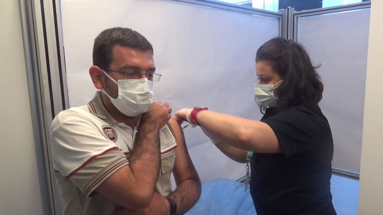 OSB'lerde aşı çalışmaları başladı