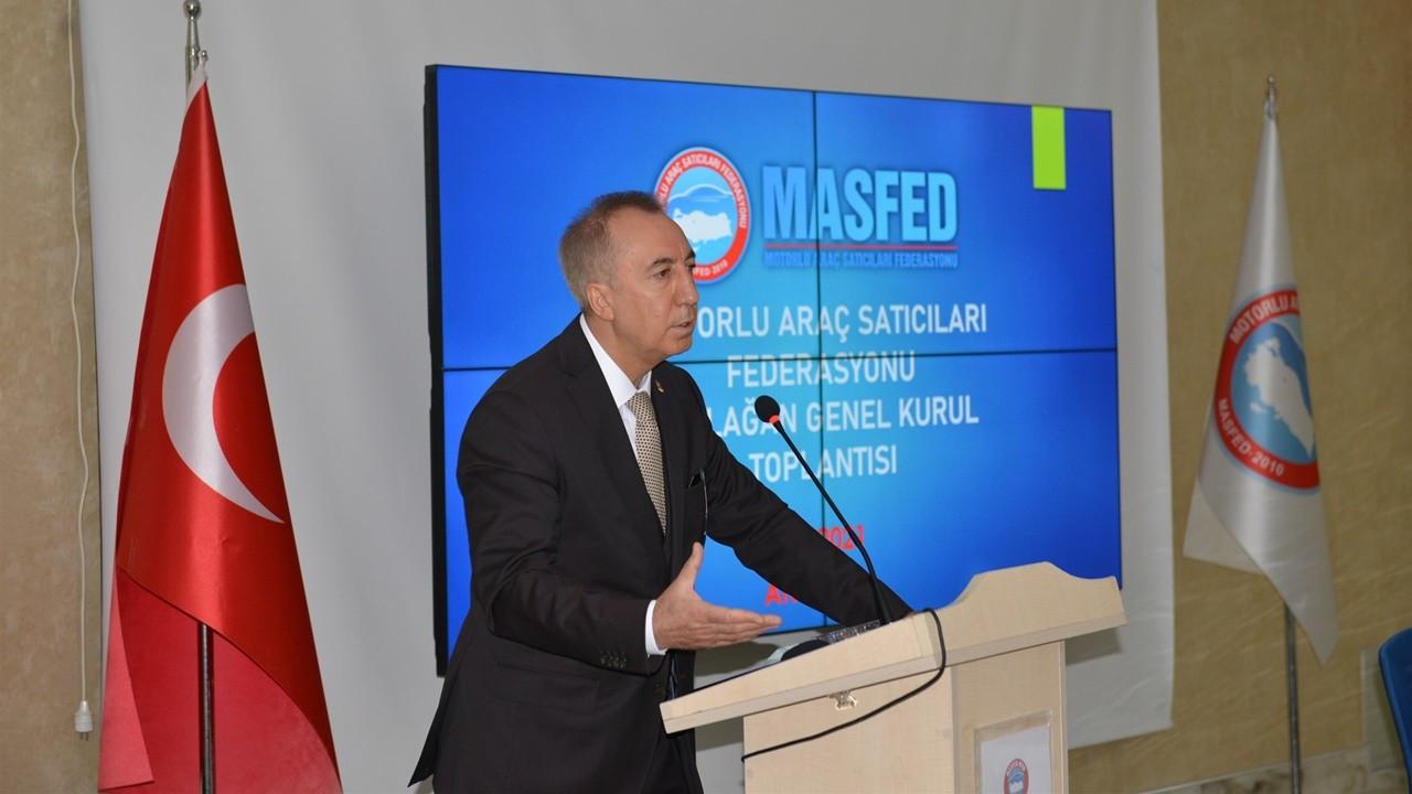 MASFED Başkanlığına Aydın Erkoç yeniden seçildi