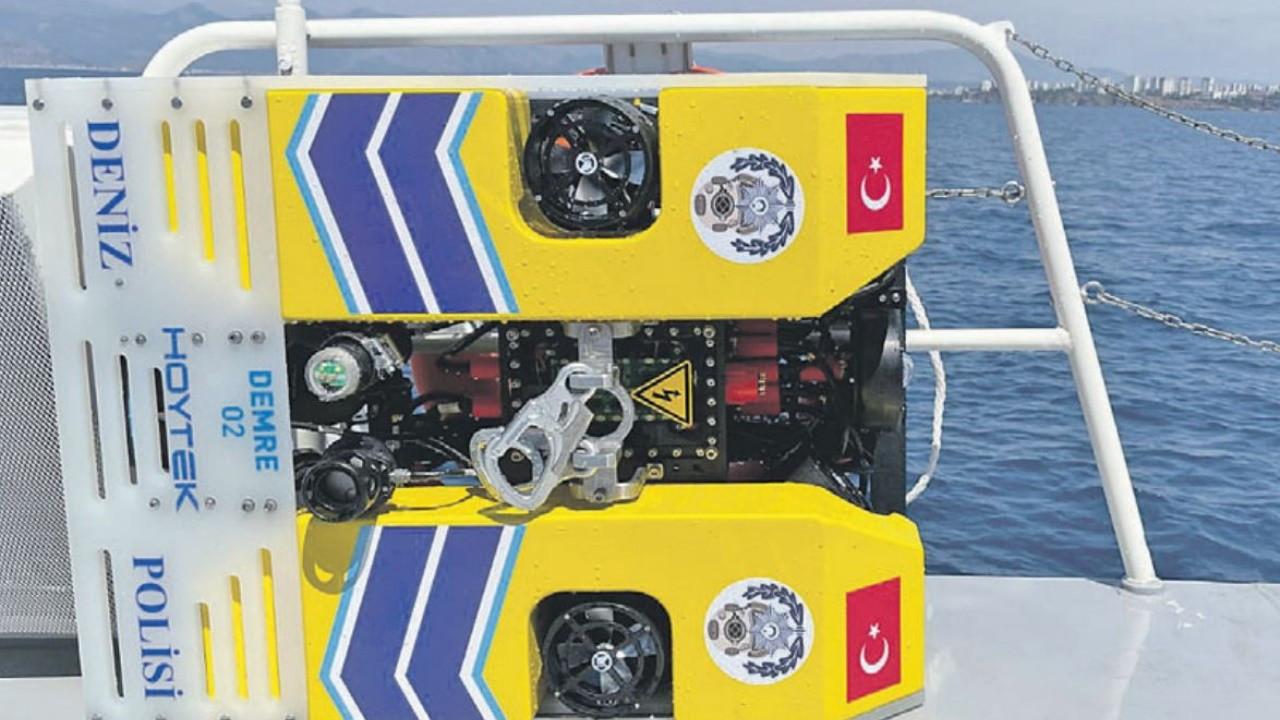 Müsilaj için robotik denizaltı önerisi
