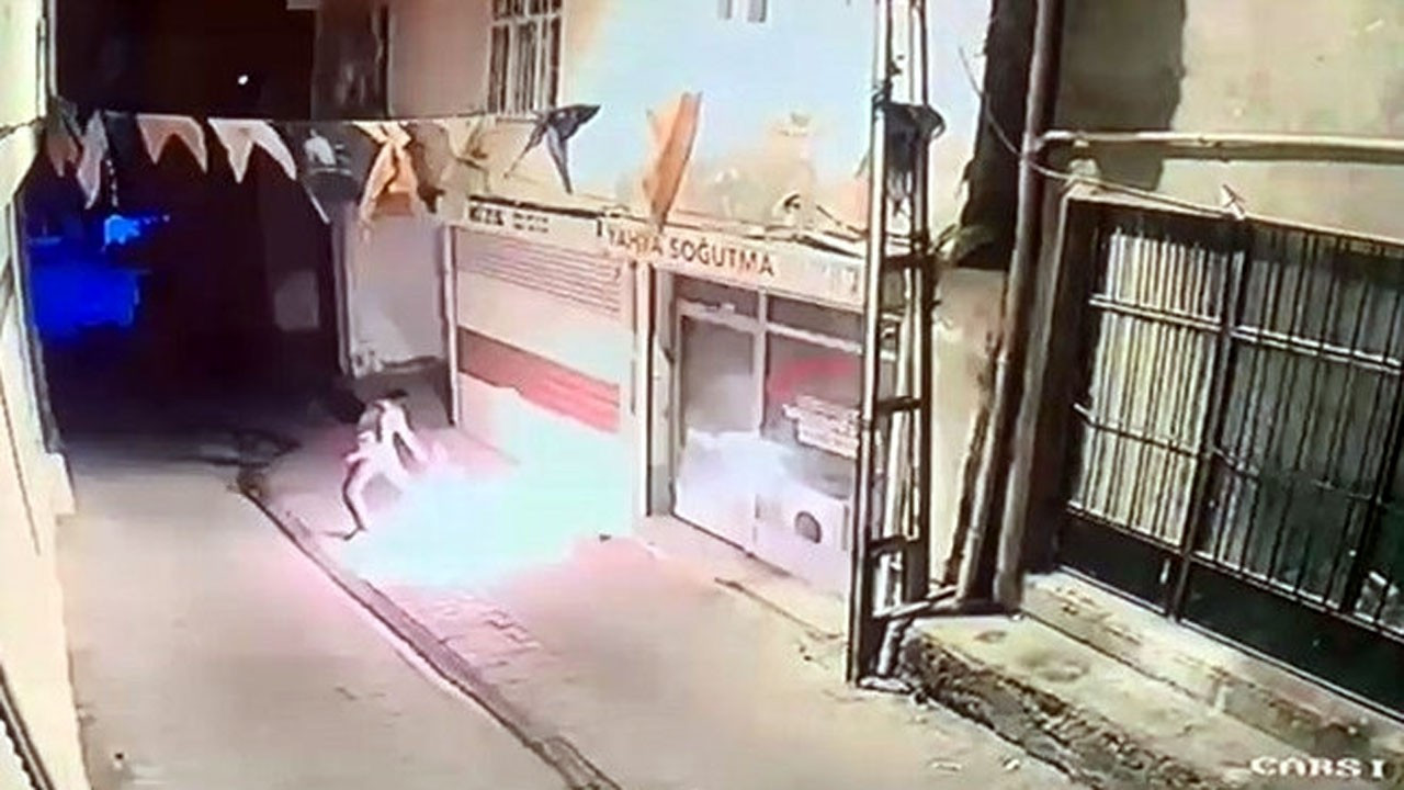 AK Parti Hani İlçe Başkanlığına molotofkokteyli ile saldırı