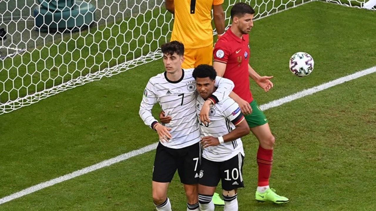 Almanya, Portekiz'i 4 golle mağlup etti