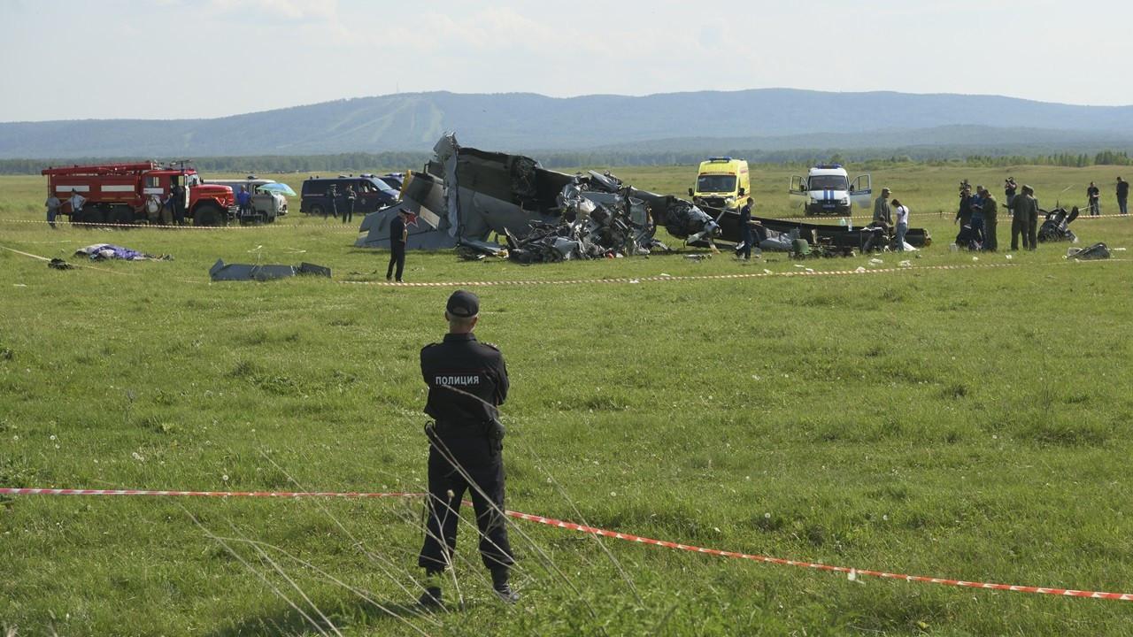 Rusya'da uçak kazası: 4 kişi öldü, 15 kişi yaralandı