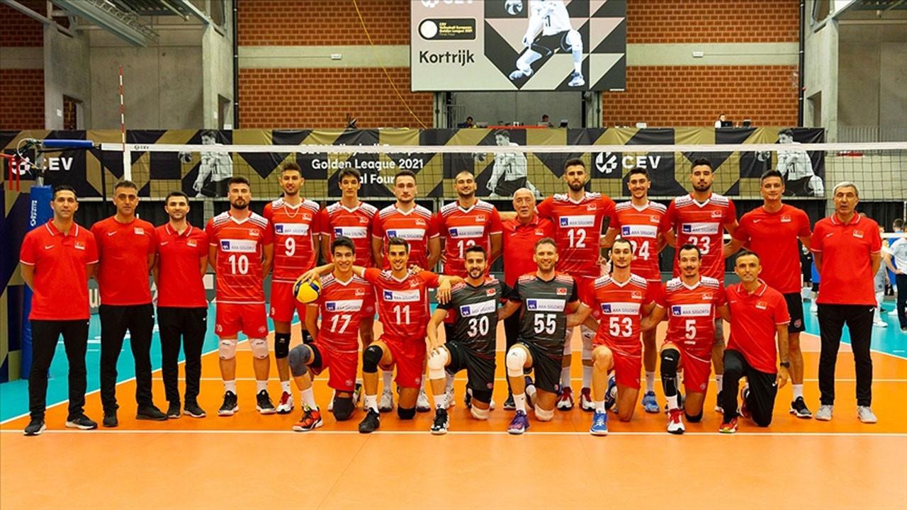 A Milli Erkek Voleybol Takımı, Avrupa şampiyonu oldu