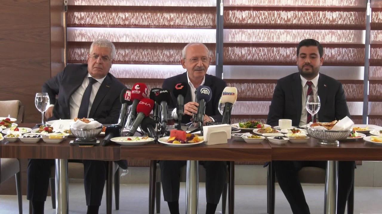 Kılıçdaroğlu: İktidarda olsaydık, Türkiye, Suriyeli sorunu yaşamazdı