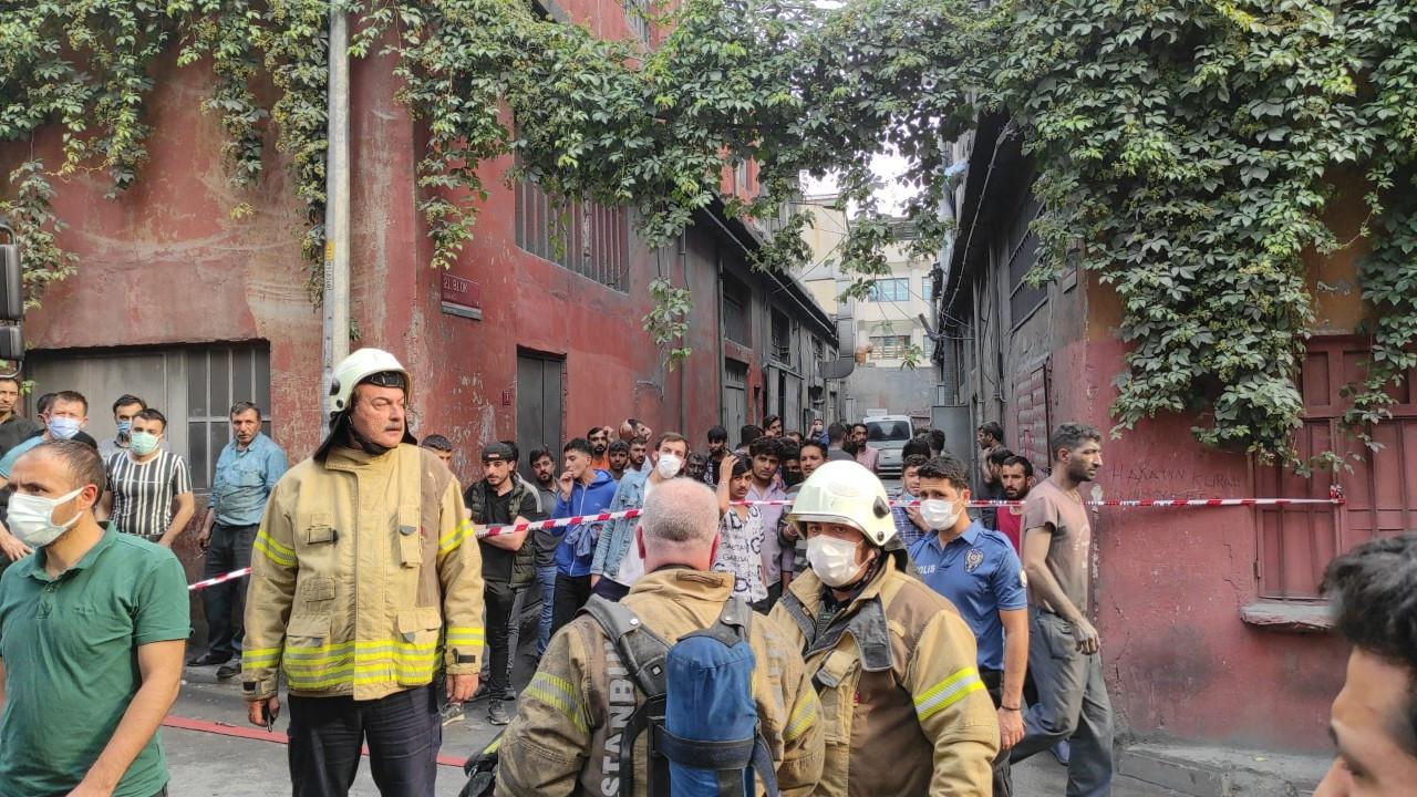 Bayrampaşa'da iş yerinde patlama: 4 yaralı