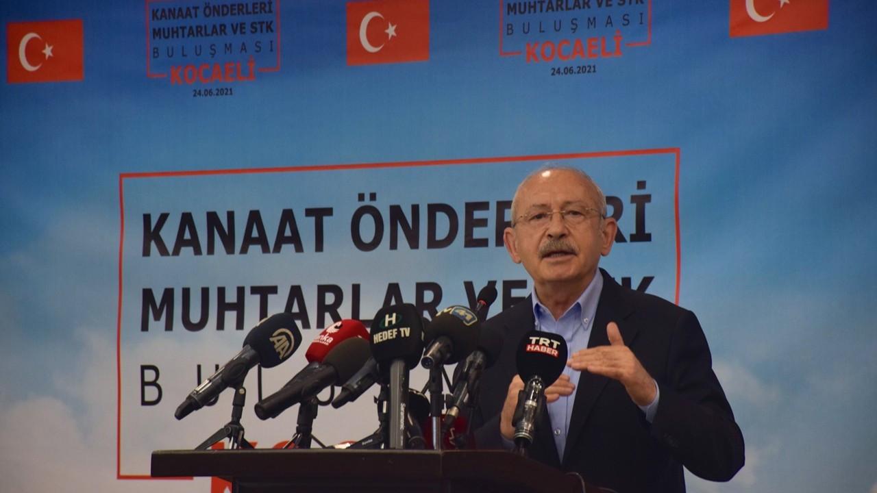 Kılıçdaroğlu: Devlet, hukuk içinde çalışmazsa organize suç örgütüne dönüşebilir