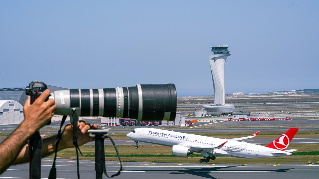 İstanbul Havalimanı Spotter Alanı hizmete girdi