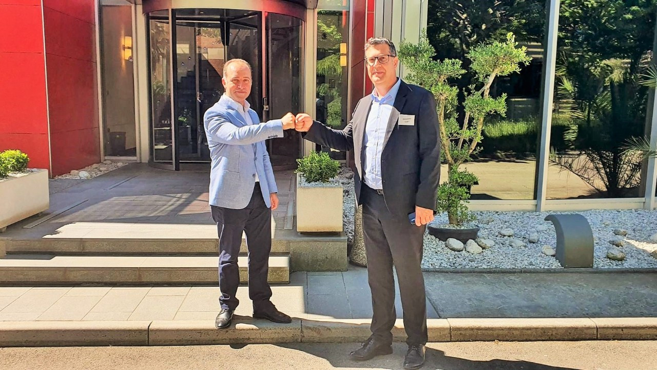 Koper Belediye Başkanı Bržan, Ak Automotive'i ziyaret etti