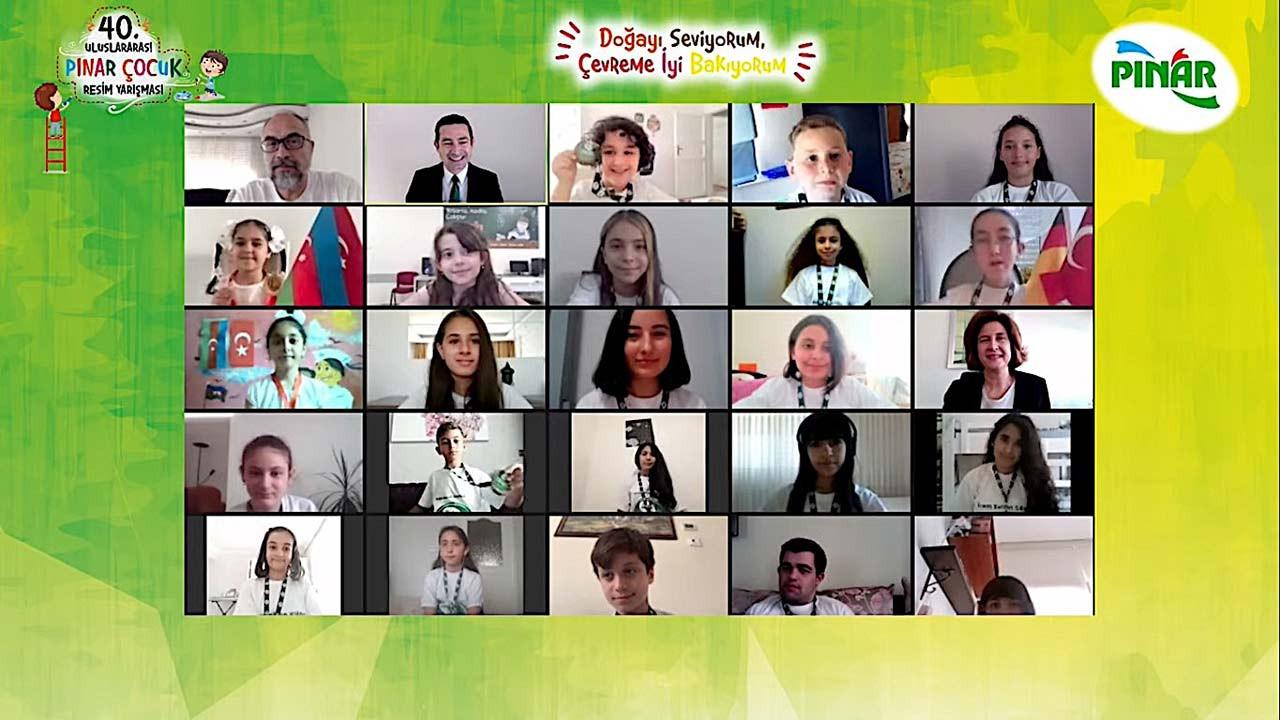 Pınar Çocuk Resim Yarışması kazananları ödüllerini aldı