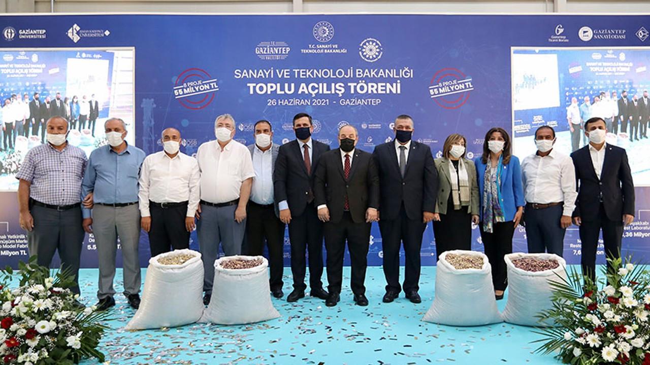Gaziantep, 55 milyon liralık 8 proje ile üretimini artıracak