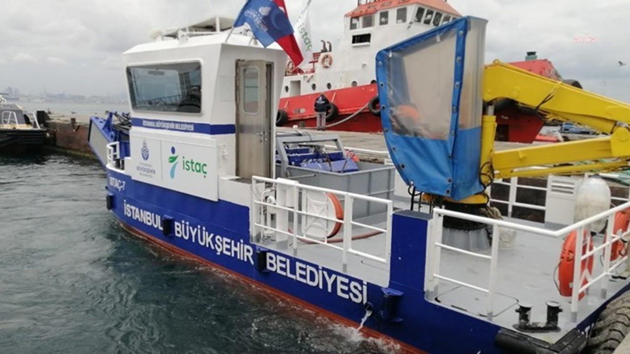 İBB, 20 günde 2 bin 516 metreküp müsilaj topladı