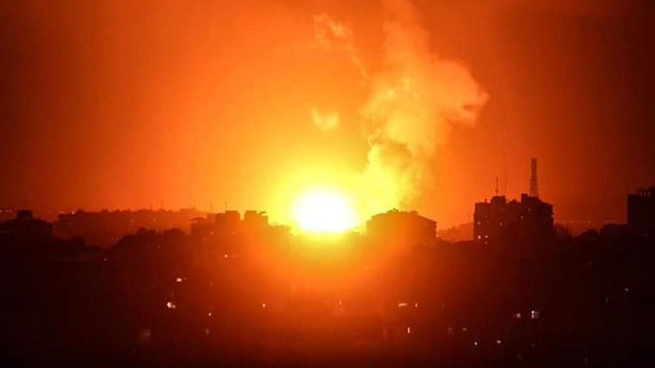 İsrail uçakları Gazze'de ateşkesi deldi