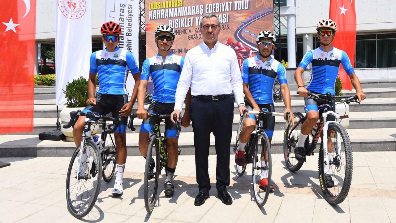 Kahramanmaraş'ta 20 ülkeden 250 sporcu pedal çevirecek