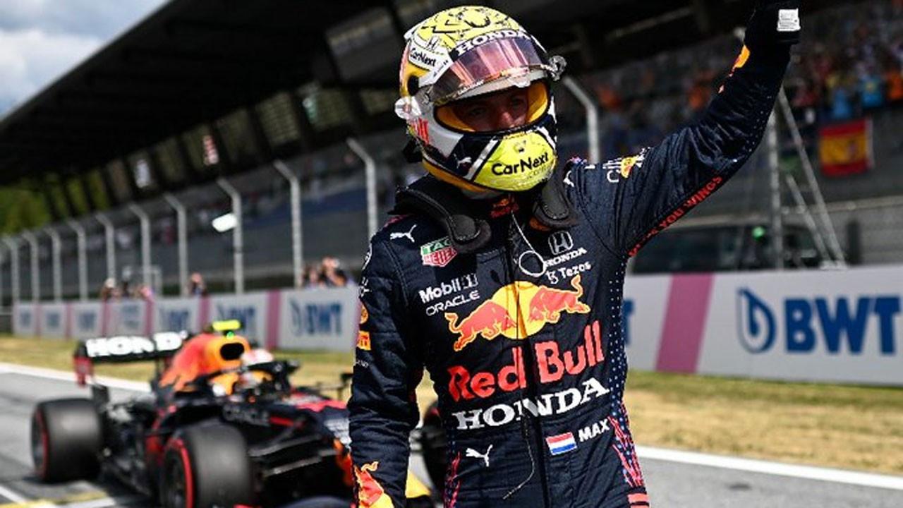 F1 Avusturya GP'sini Max Verstappen kazandı