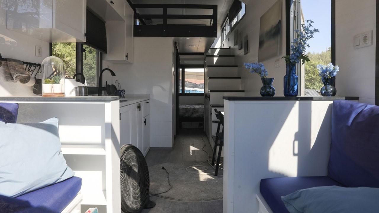Kamp ve karavan tutkunları Urla'da buluştu