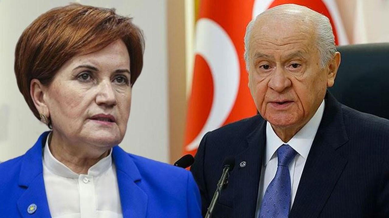 Akşener'in Bahçeli'ye açtığı dava reddedildi