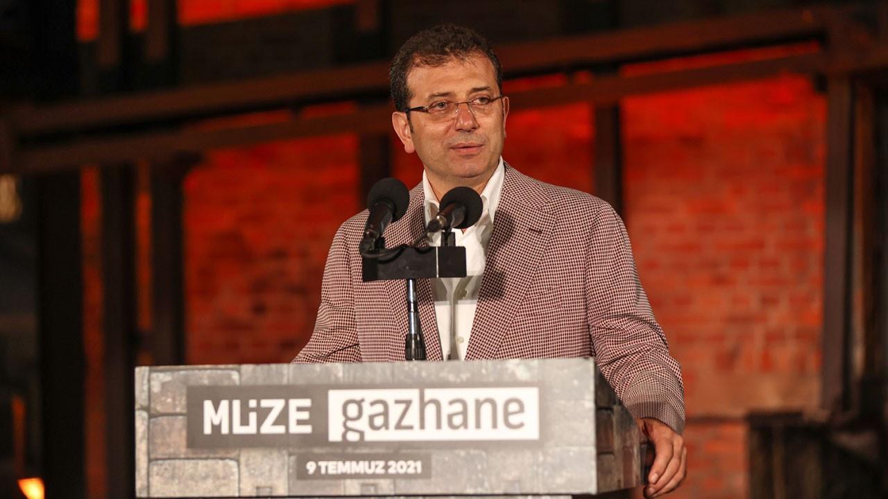 Ekrem İmamoğlu Müze Gazhane'yi açtı