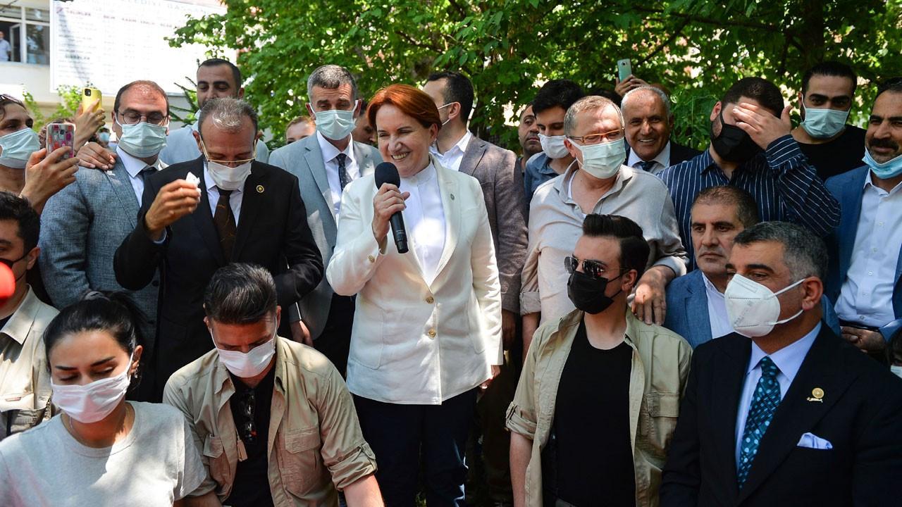 Akşener: Kılıçdaroğlu'nun adaylığı konusu elbette hakkıdır
