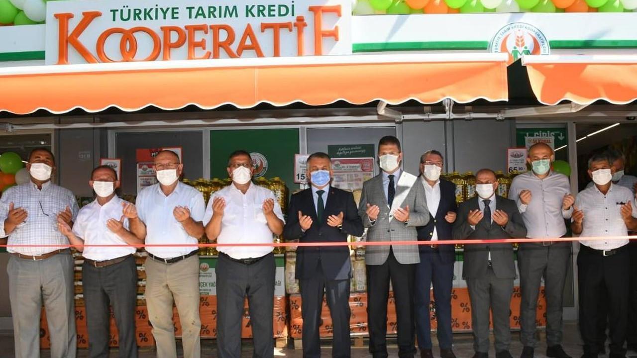 Tarım Market'in 355'inci şubesi açıldı