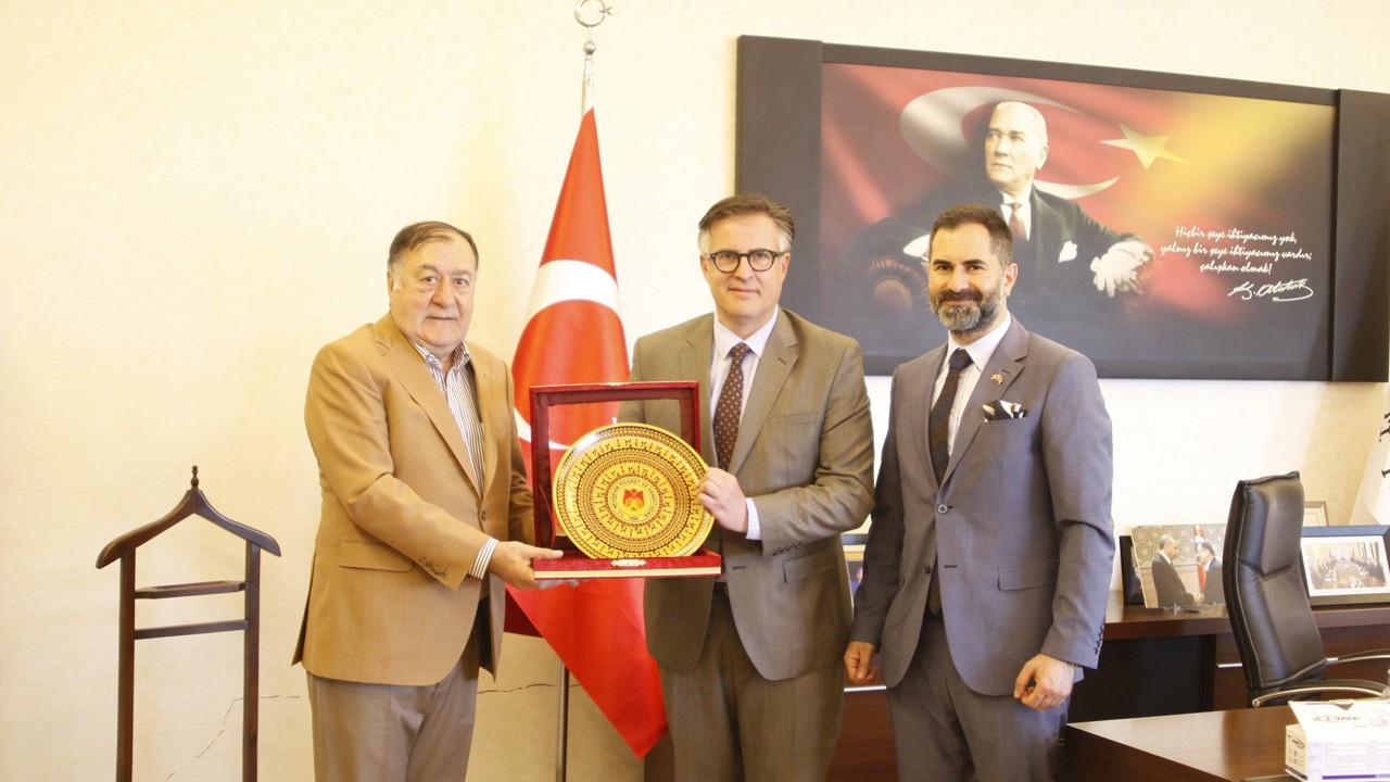 Nevşehir TSO, Romanya Ankara Büyükelçisi Tinca'yı ağırladı