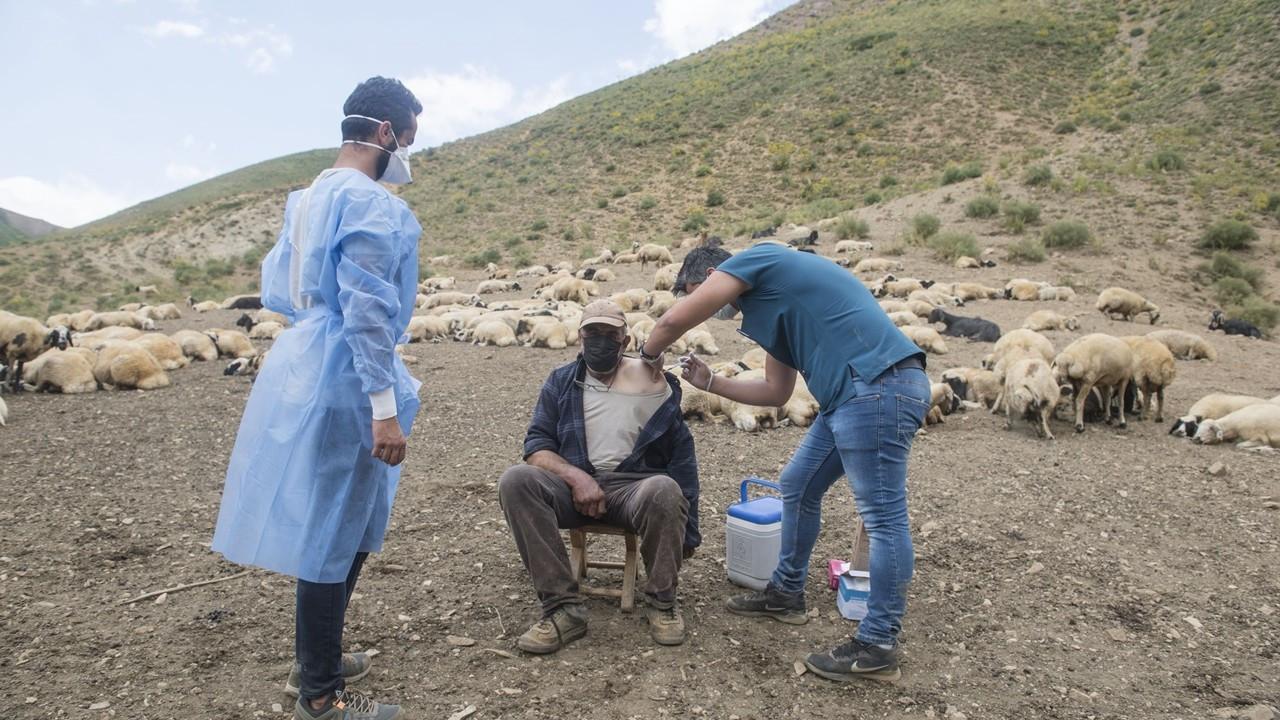 Türkiye'de yapılan toplam aşı sayısı 60 milyonu aştı