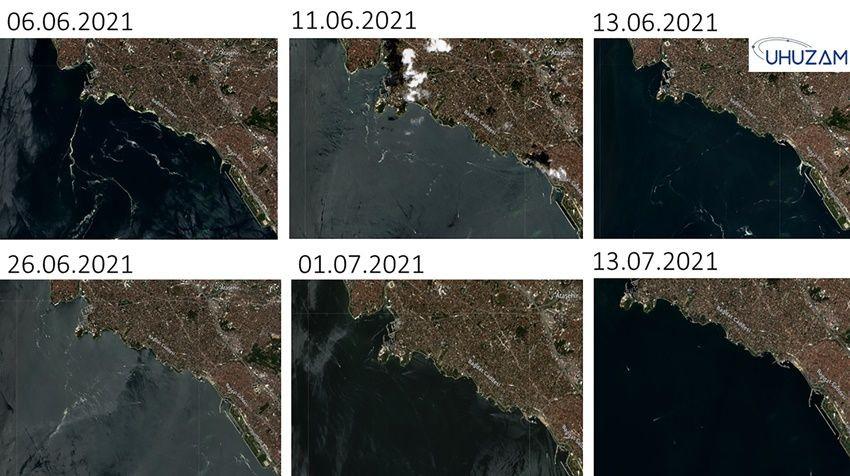 Müsilajın son durumu uzaydan görüntülendi - Sayfa 3