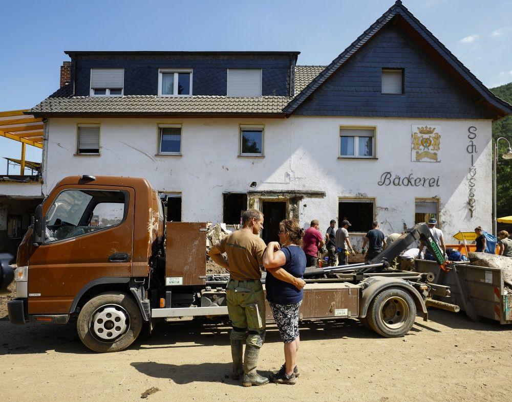 Almanya'da felaketin bilançosu artıyor - Sayfa 4