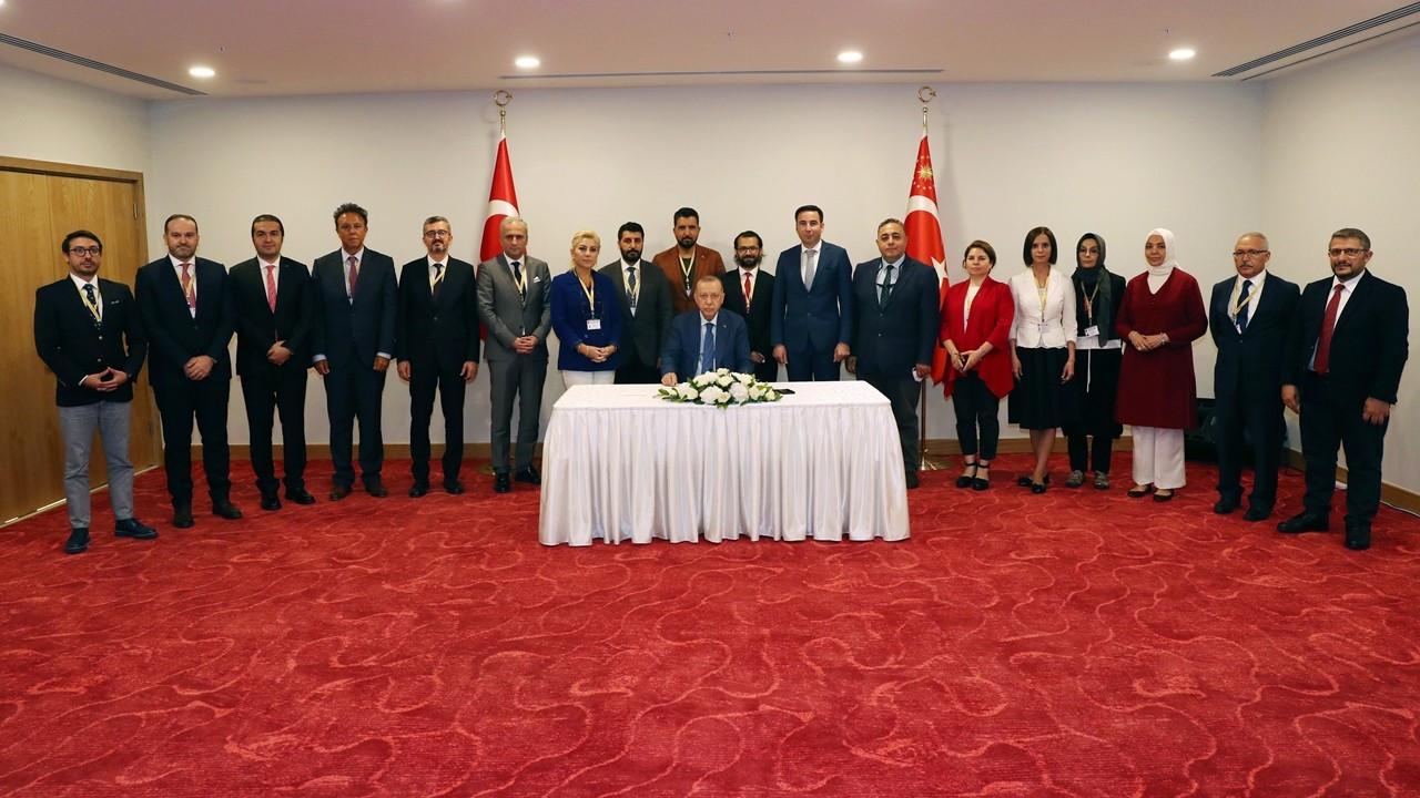 Cumhurbaşkanı Erdoğan: Kıbrıs müzakereleri iki devlet arasında yürütülmeli