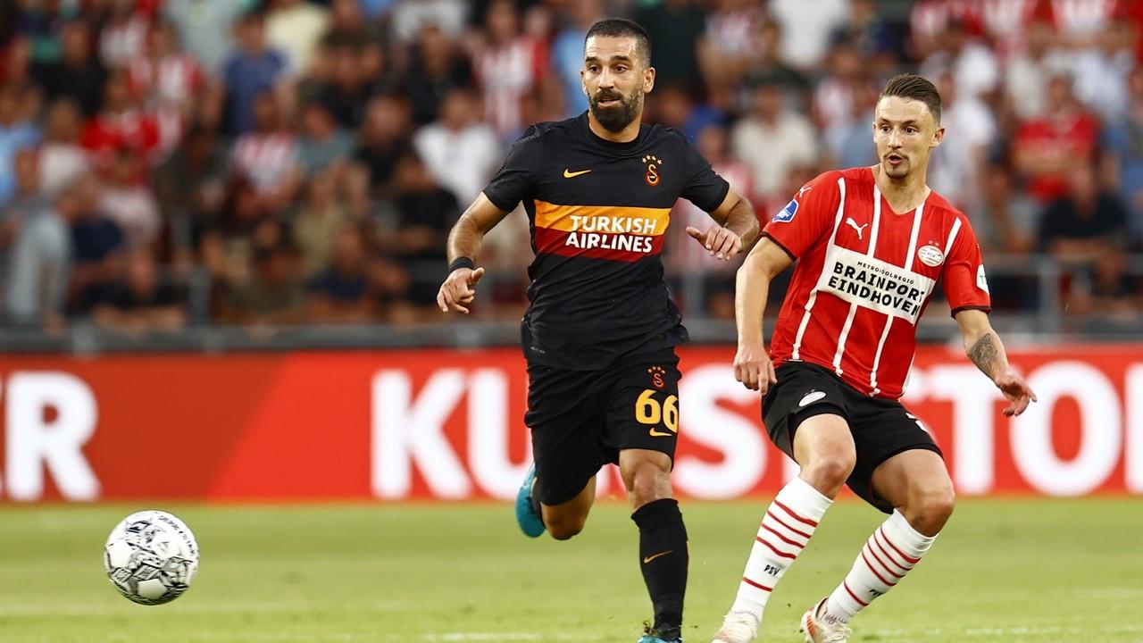 Galatasaray, PSV'ye farklı yenildi