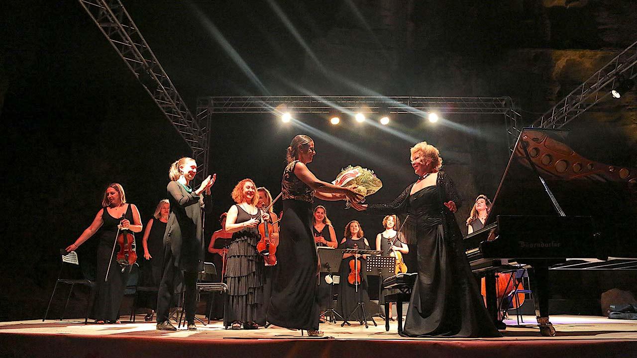 Uluslararası Gümüşlük Müzik Festivali müzikseverlerle buluştu