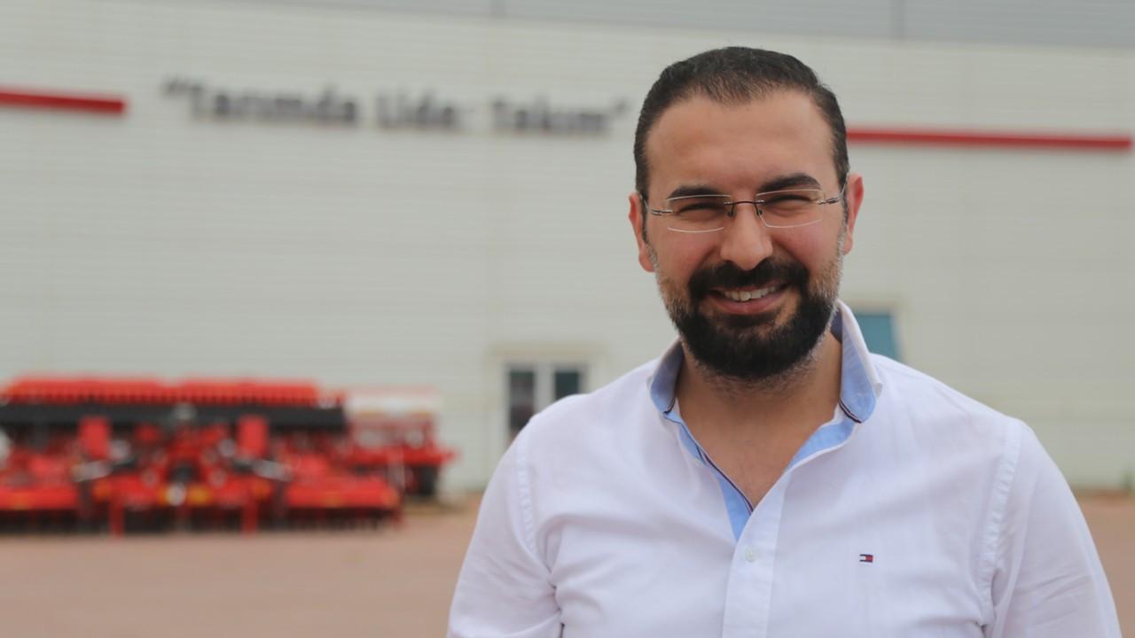 Şakalak'ın Konya'da ürettiği makineler ABD'de tohum ekiyor